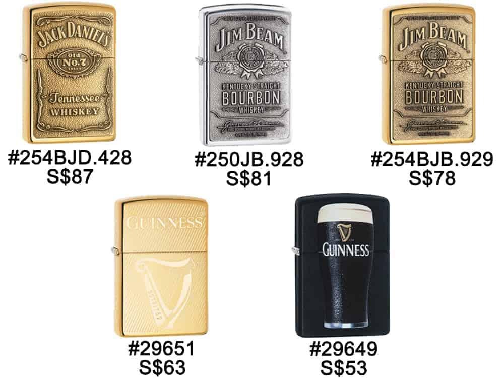 Zippo Lighters Singapore - Zippo Liquor