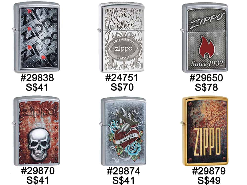 Zippo Lighters Singapore - Zippo Misc