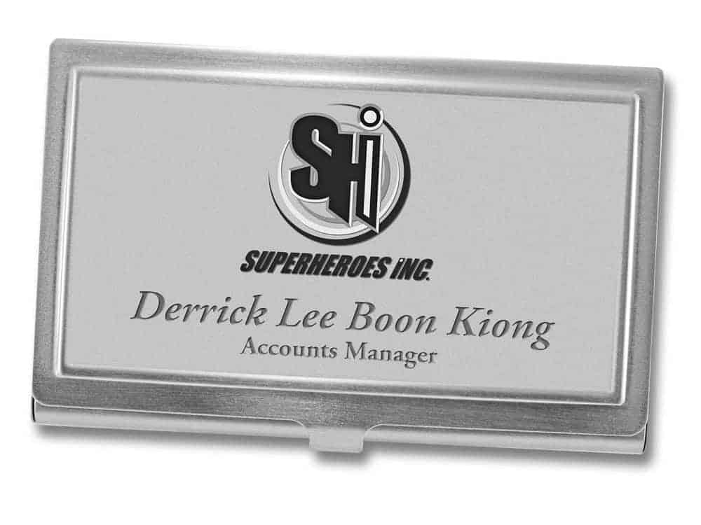 Business Card Cases (SGD$48)