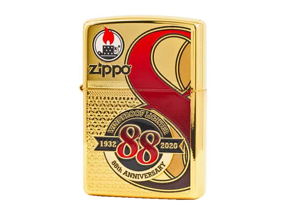 Zippo ZA-2-147A 88th Anniversary – High Polish Gold