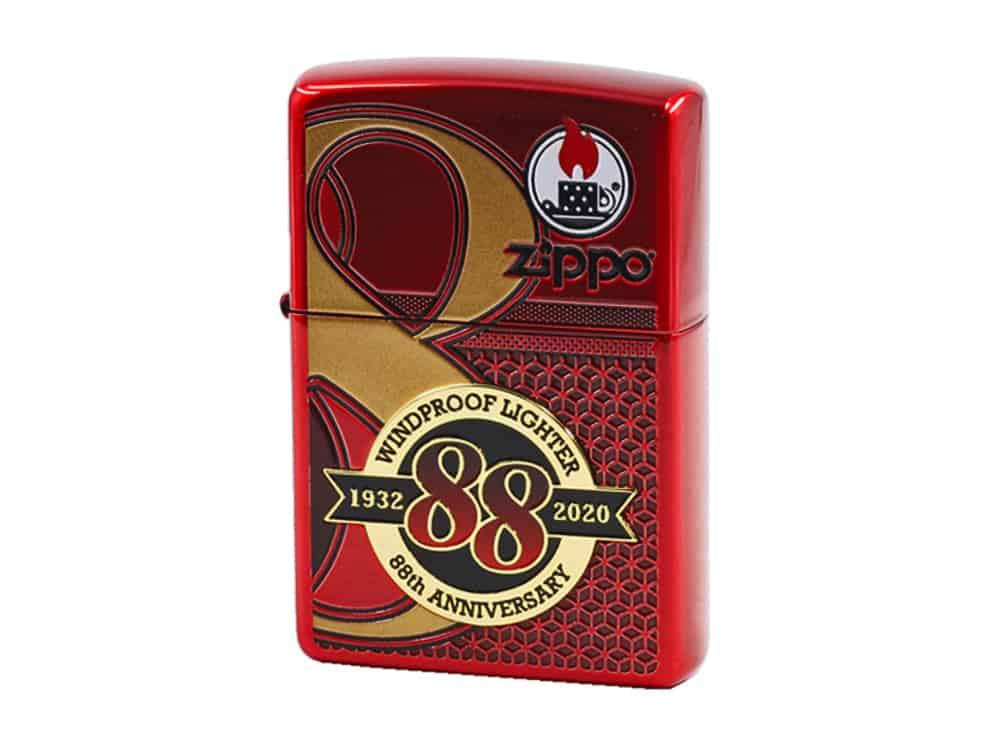 Zippo ZA-2-147B 88th Anniversary – Glossy Red